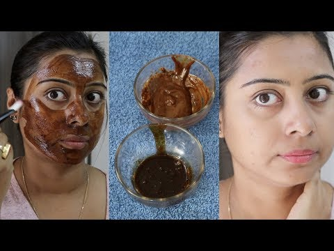 DIY Coffee Face Scrub & Mask to Get Instant Brightens/ Lightens Skin || Preventing Naturally Soumali