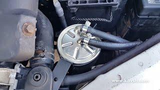замена фильтр салона форд транзит #11