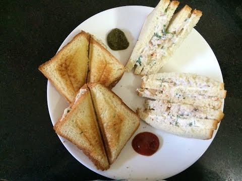 Mayo Chicken Sandwich Recipe   बच्चों के लिए बनाई यह स्वादिष्ठ नाश्ता   Beginners breakfast recipe