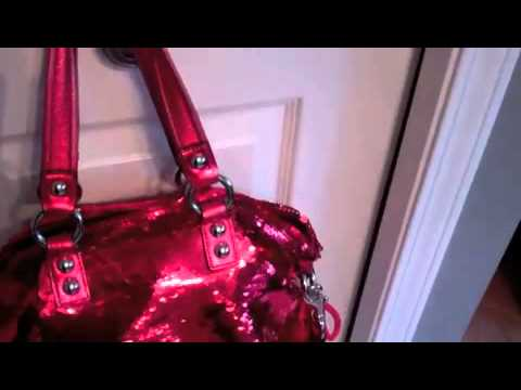 Coach red POPPY Bag For Sale on Ebay