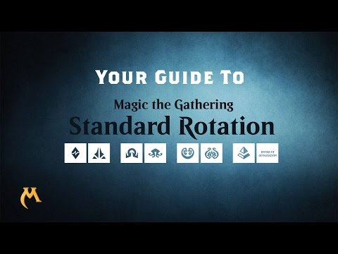 Explaining the new Standard Rotation for Magic the Gathering