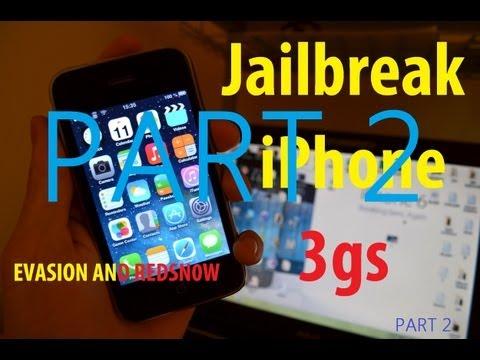 iPhone 3Gs, 4, 4s, 5 jailbreak ios 5-6.1.3 (evasi0n/redsn0w) PART2