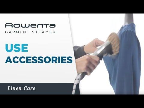 Accessories with your Garment Steamer, by Rowenta
