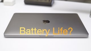 13-inch MacBook Pro battery life Test - does it last 10 hours?
