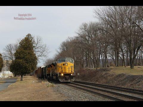 Norfolk Southern's Harrisburg Line Railfanning: March 5th, 2016