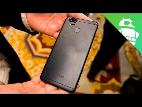 ASUS Zenfone 3 Zoom Hands On at CES 2017!