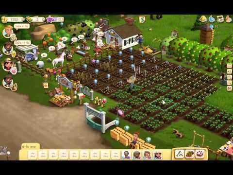 Farmville2 : watering vegetables