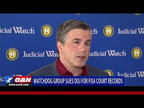 JW: DOJ is Stonewalling on FISA Court Transcripts --