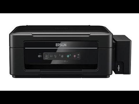 Epson L355 Ink Refill Tutorial - English