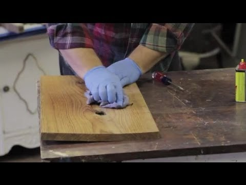 How to Remove Ink Marker on Pine Furniture : Furniture Repair & Refinishing