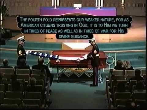 Honor Guard - U.S. Flag Folding & Explanation of What Each Fold Represents