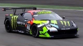 Valentino Rossi Ferrari 458 GT3 - 2012 Blancpain Endurance Series Monza