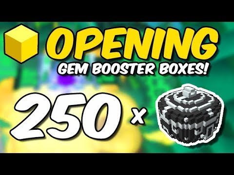 Opening 250 GEM BOOSTER BOXES!