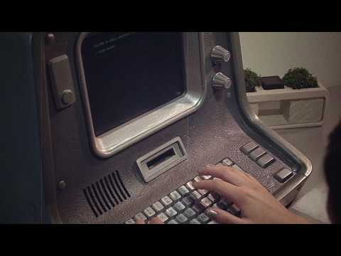Real working terminal from Fallout (IN STUDIO)