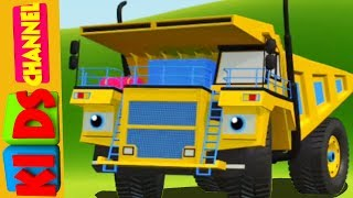 Mega Dump Truck & Raod Roller | Vehicle Kids Show | Videos for Toddlers by Kids Channel