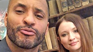 American Gods Season 2 - Ricky Whittle & Emily Browning - exclusive interview (2019)