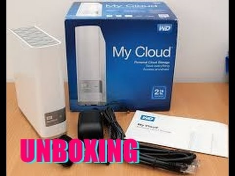 Western Digital 2TB  My Cloud Unboxing