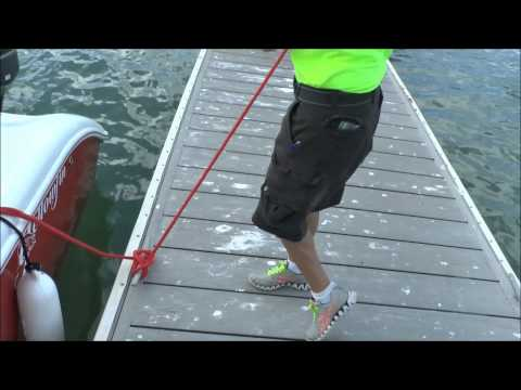 Best Dock Line Handler EVER