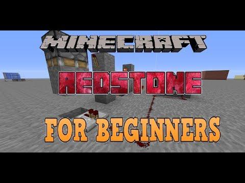 Minecraft Redstone For Beginners