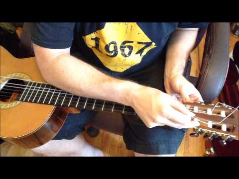Everything you need to know about changing strings on classical guitar