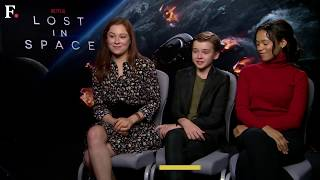Lost in Space: Mina Sundwall, Maxwell Jenkins and Taylor Russell discuss their Netflix show