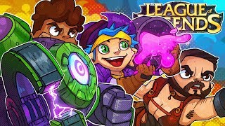 The Most Toxic League Of Legends Squad