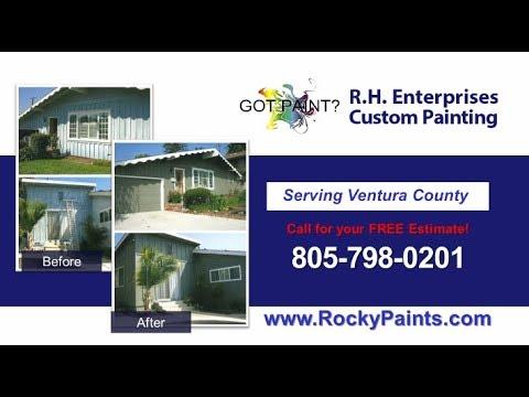 R.H. Enterprises Custom Painting | Ventura CA Painting Contractors