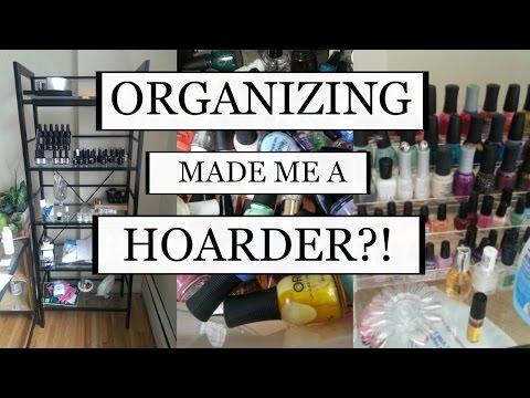 ORGANIZING MADE ME A HOARDER?! | MINIMALISM