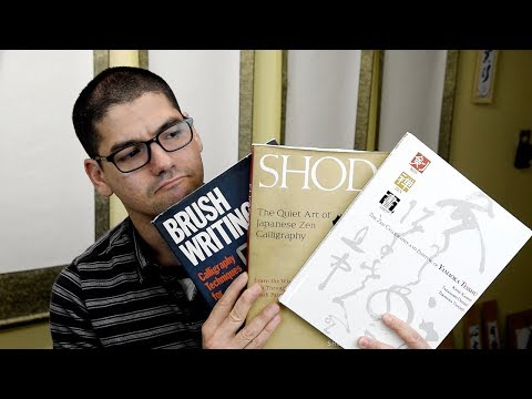 My top 5 favorite Japanese Calligraphy Books