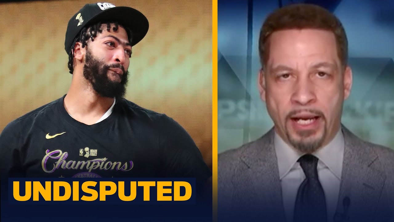 Ranking Anthony Davis #2 in NBA is lazy, he's not an alpha — Chris Broussard | NBA | UNDISPUTED