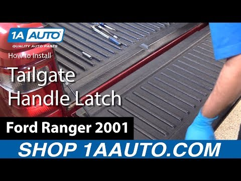 How to Install Replace Tailgate Handle Latch Mechanism 2001 Ford Ranger BUY AUTO PARTS AT 1AAUTO.COM