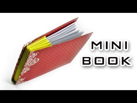 DIY - Paper Book | How to make a paper little book | Paper Notebook! Mini DIARY