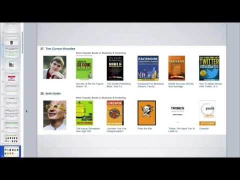 How to Become a #1 Bestselling Author on Amazon Kindle