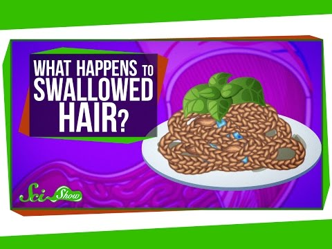 What Happens When You Swallow Hair?