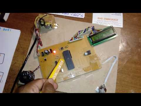 smoke detector using 8051 microcontroller