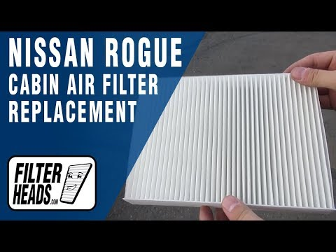 How to Replace Cabin Air Filter 2015 Nissan Rogue