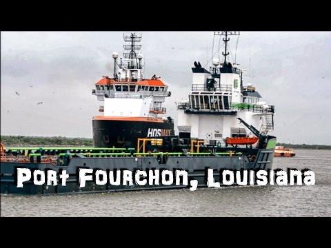The Boats of Port Fourchon, Louisiana