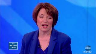 Sen. Amy Klobuchar on questioning Brett Kavanaugh about blacking out | The View