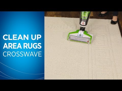 Cleaning Area Rugs with Your CrossWave™