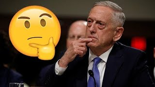 Mattis: No evidence on Syria chemical attack, but I believe there was one… ¯\_(ツ)_/¯