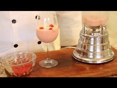 How to Make Virgin Raspberry Pina Coladas : Virgin & Non-Alcoholic Drink Recipes