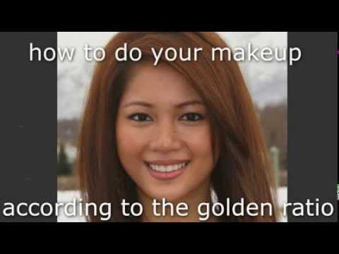 Make YOUR face look more PERFECT- golden ratio MAKEUP!