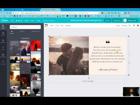 How to Make a Beautiful Text Graphic for Instagram or Twitter Using Canva