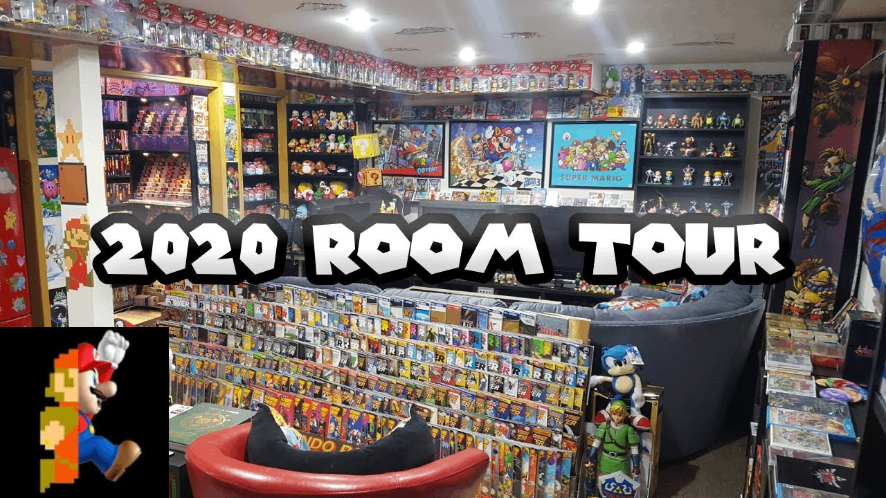 THE Nintendo Room Tour 2020 - Longest Room Tour Ever