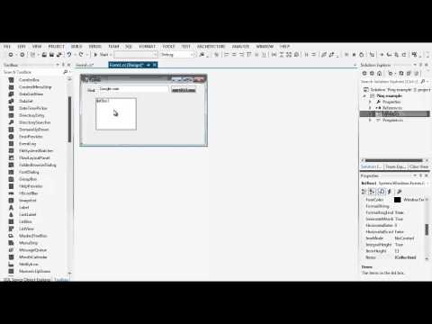 Visual Studio: Visual C# Ping Example