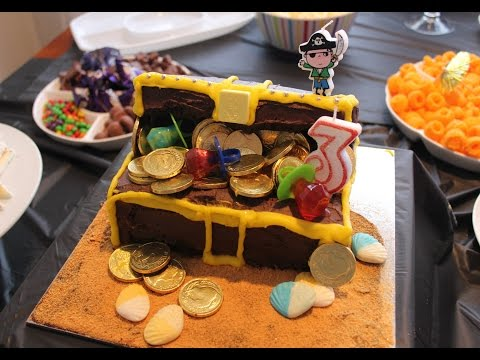 Pirate Party ! Romans 3rd Birthday