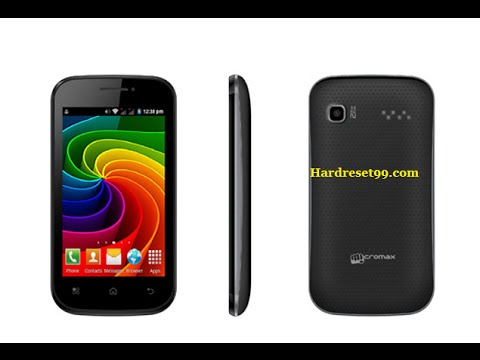 Micromax A35 Hard reset, Factory Reset & Password Recovery