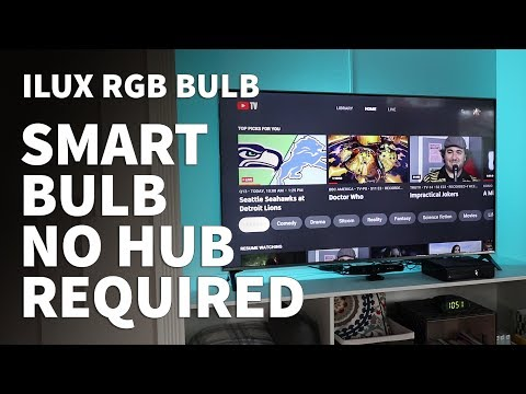 RGB Smart Light Bulb – How to Set Up iLUX LED Light Bulb with Bluetooth No Hub Required