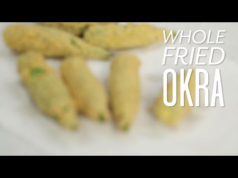 How To Make Whole Fried Okra    Cooking Tutorial