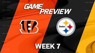Cincinnati Bengals vs. Pittsburgh Steelers   Week 7 Game Preview   NFL Playbook